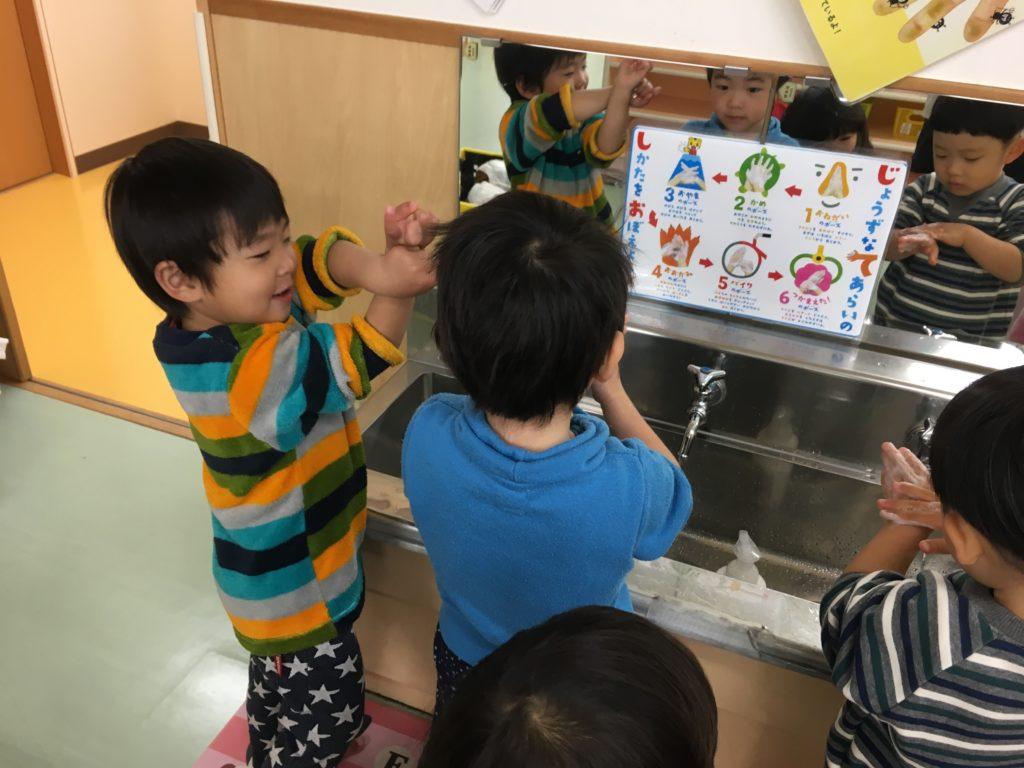 上手な手洗い